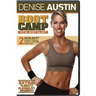 Link to a review of the captioned Denise Austin workout called Boot Camp Total Body Blast!